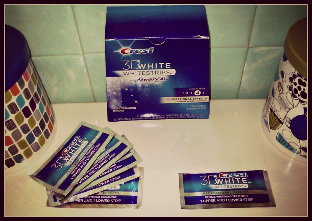 how to use crest 3d white whitestrips professional effects