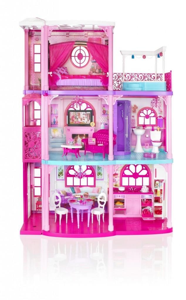 Save on barbie dreamhouses and princess castles for Dreamhouses com