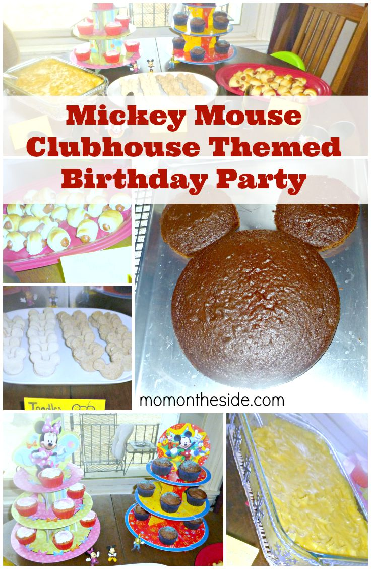 Mickey Mouse Clubhouse Themed Birthday Party to show of your Disney Side! A great First Birthday Cake for Twins or a Mickey Mouse Birthday Cake for anyone!