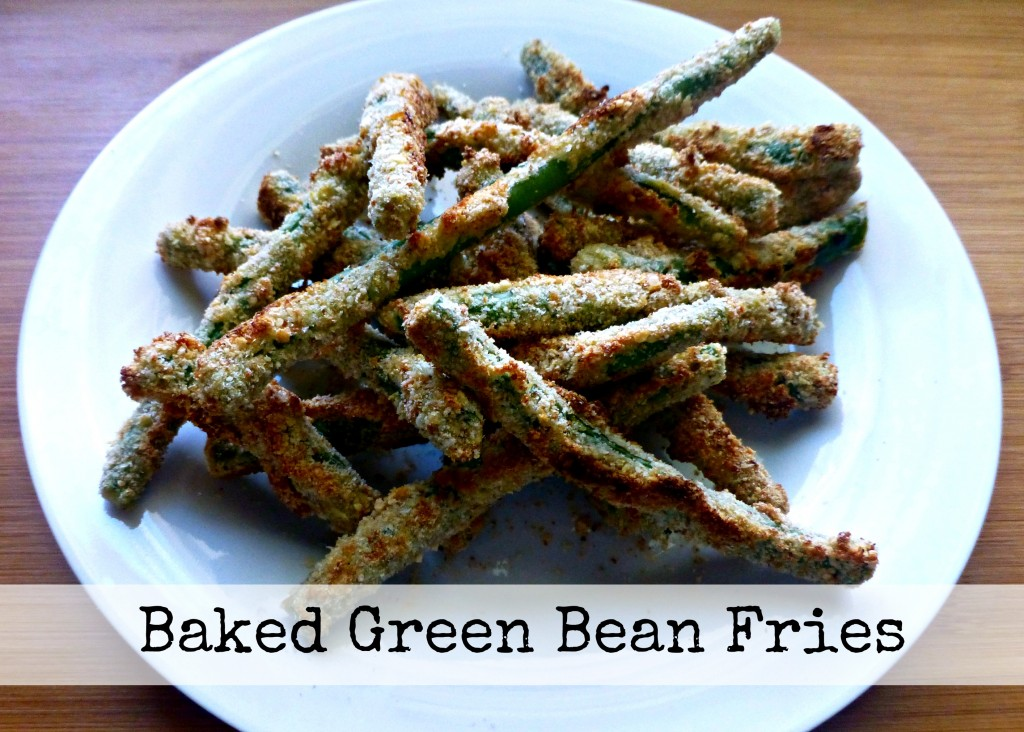 Easy and Delicious Baked Green Bean Fries Recipe