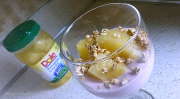 Pineapple Raspberrry Parfait + 5 Days of Summer Food and Fitness Tips