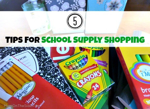 Tips for School Supply Shopping