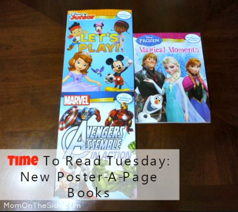 Time To Read Tuesday: New Poster-A-Page Books