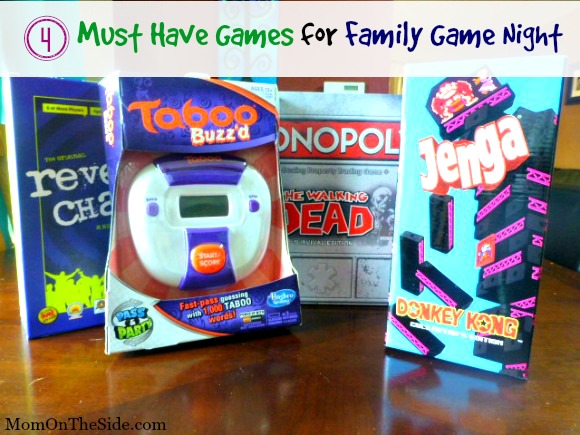 4 Must Have Games for Family Game Night