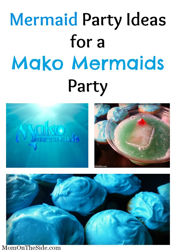 Mermaid Party Ideas for a Mako Mermaids Party