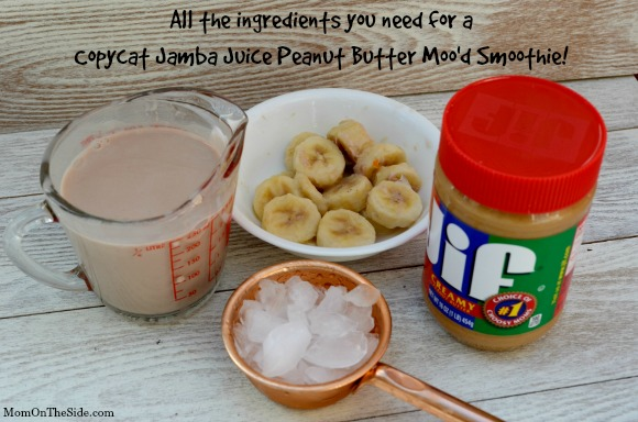 Peanut Butter Smoothie (Inspired by Jamba Juice)