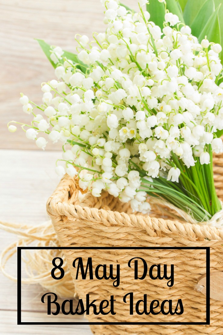 Make May Day Baskets with your kids this year in an easy way! 8 May Day Basket Ideas that you can make with things from around the house and in your yard.