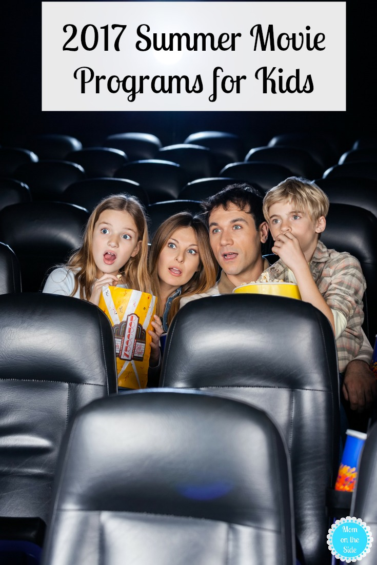 2017 Summer Movie Programs for Kids - Enjoy cheap or even free movies as well as deals on movie concessions with these Summer Movie Programs for Kids!