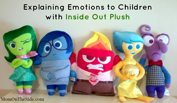 Explaining Emotions to Children with Inside Out Plush + DIY Emotion Photo Booth