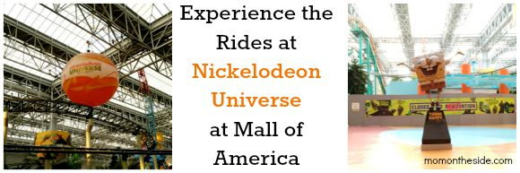 Experience the Rides at Nickelodeon Universe at Mall of America