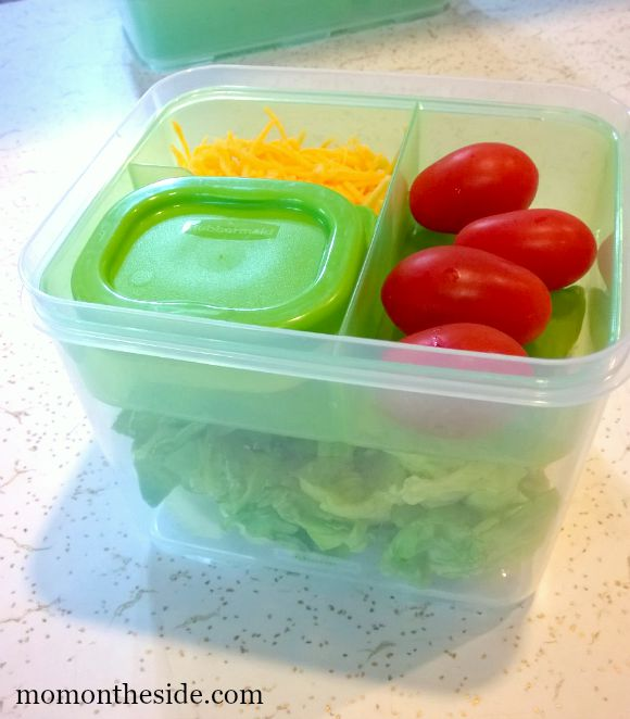 Rubbermaid LunchBlox Salad Kit and Entree Kit {Perfect for Teens}
