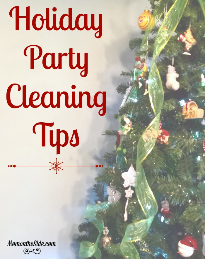 Holiday Party Cleaning Tips