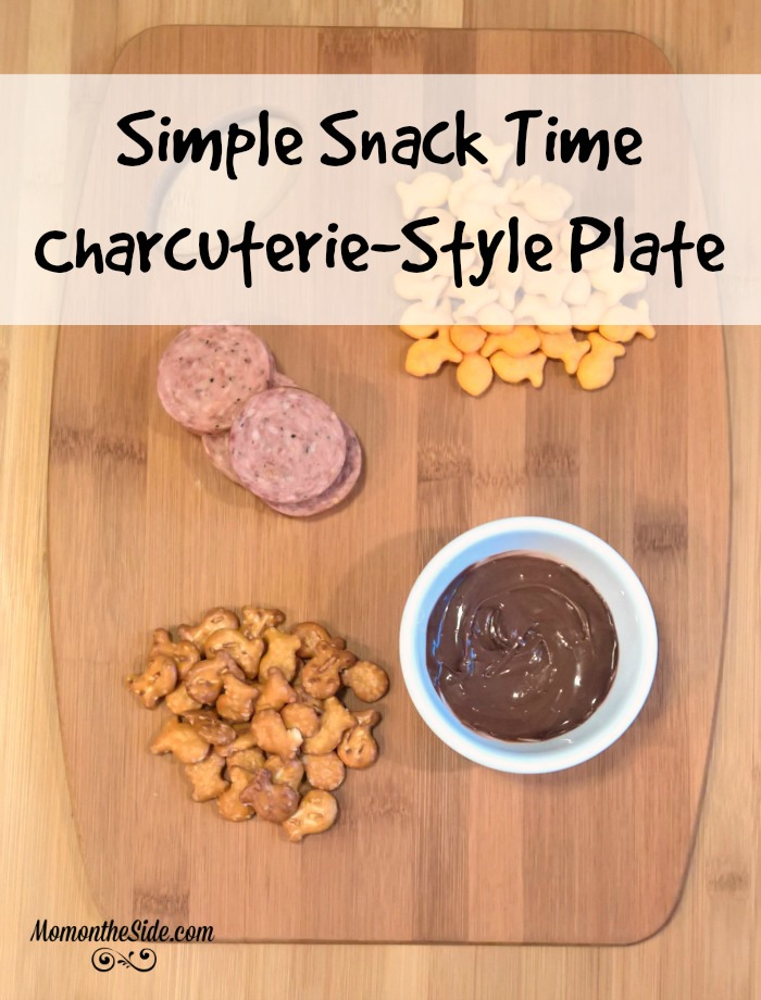 Simple Snack Time Charcuterie-Style Plate