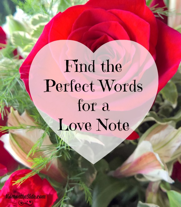 Find the Perfect Words for a Love Note