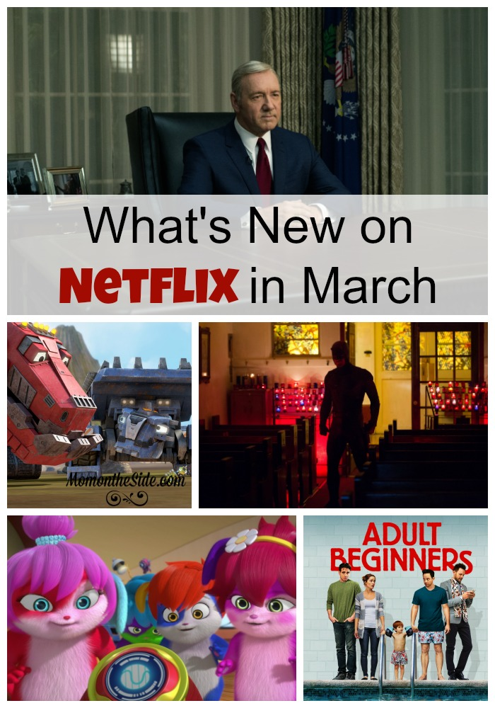 What's New on Netflix in March