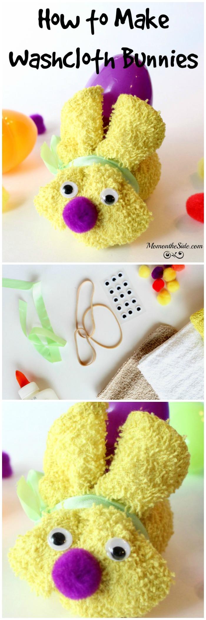 How to Make Washcloth Bunnies