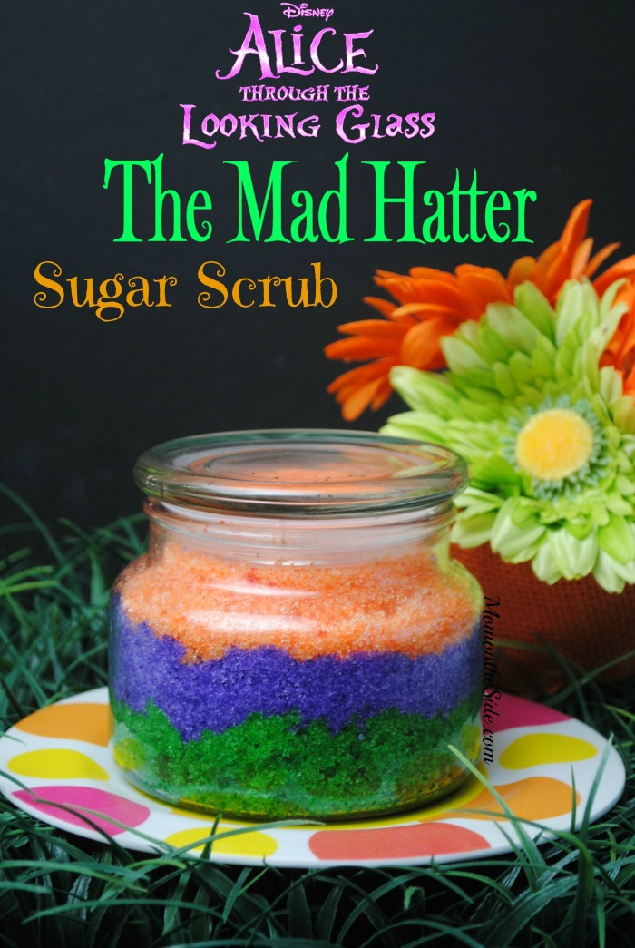 Mad Hatter Sugar Scrub Inspired by Alice Through the Looking Glass