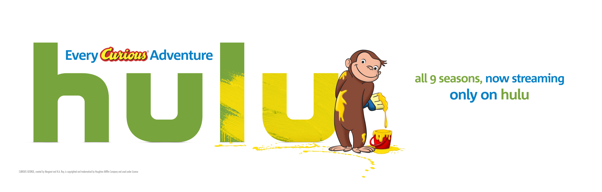 Monkey Around with Curious George on Hulu