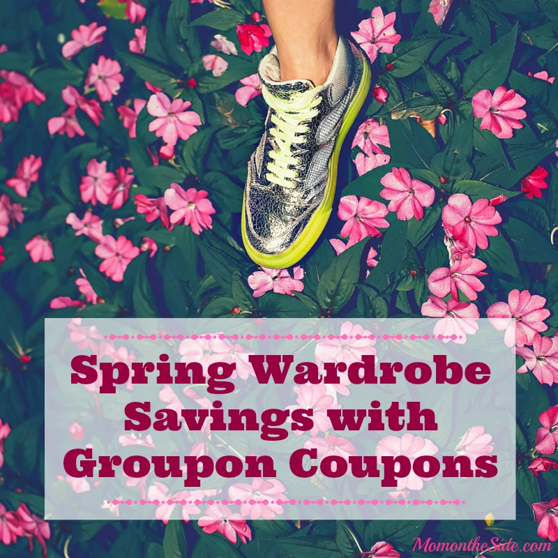 Spring Wardrobe Savings with Groupon Coupons