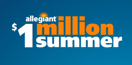 Fantastic Vacations with Allegiant: Million Summer Giveaway