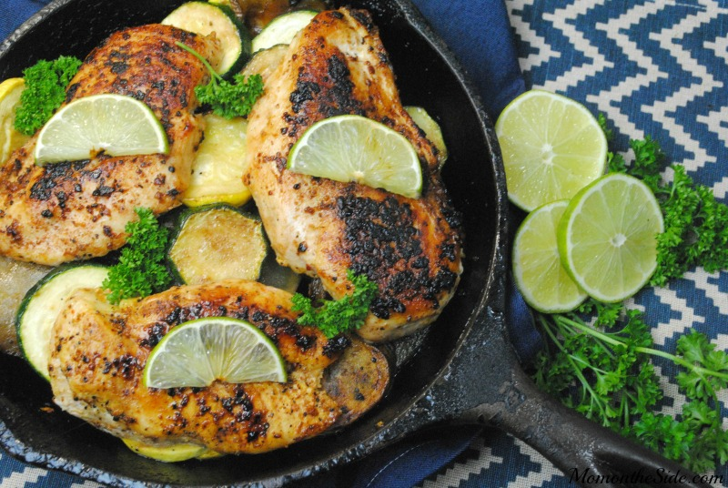 Citrus Lime Chicken Cast Iron Skillet Recipe