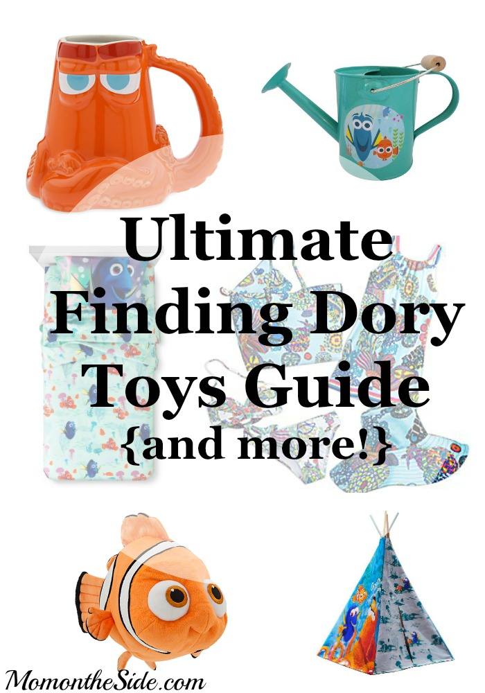 Ultimate Finding Dory Toys Guide {and more!}