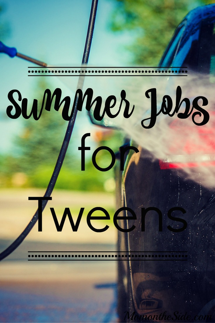 Summer Jobs for Tweens