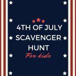 4th of July Scavenger Hunt for Kids