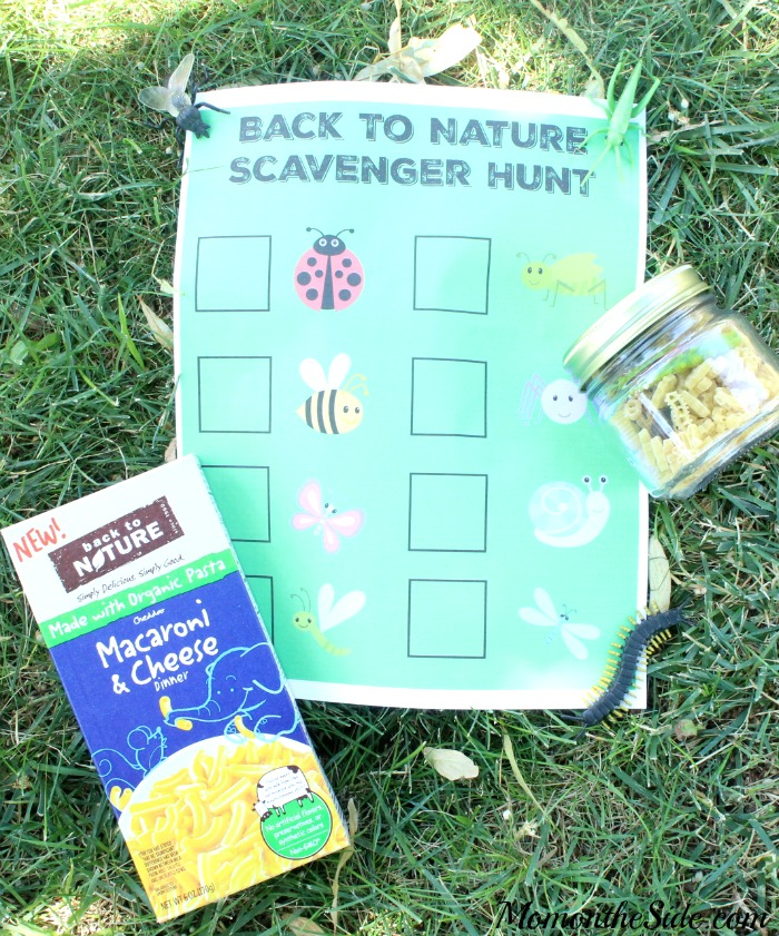 Back to Nature Bug Scavenger Hunt + Bug Find It Jars
