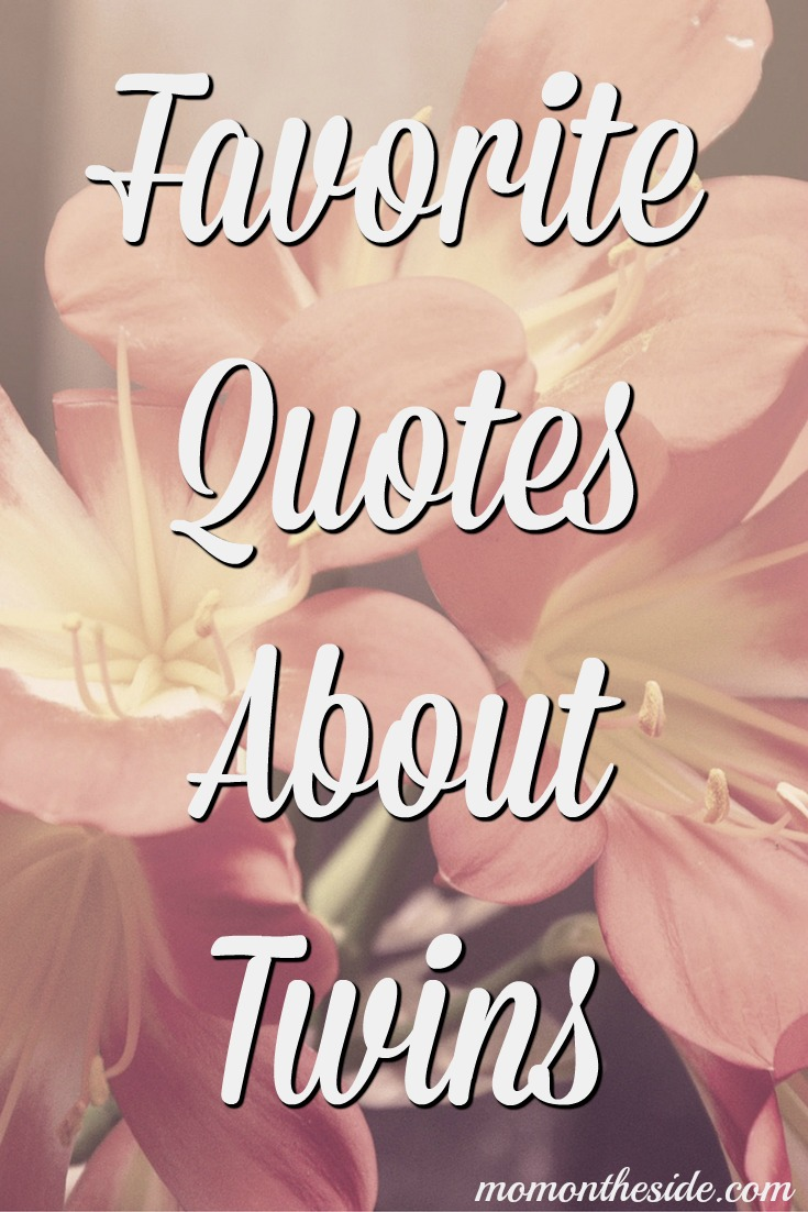 Favorite Quotes About Twins