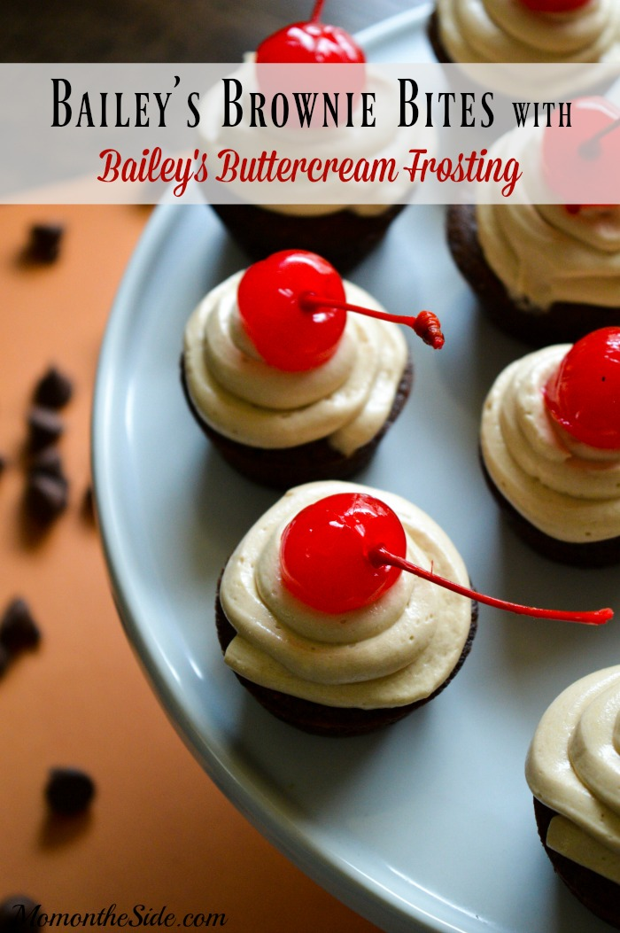 bailey's brownie bites