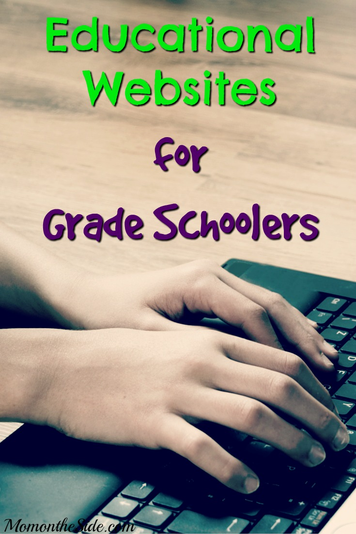 Favorite Educational Websites for Grade Schoolers