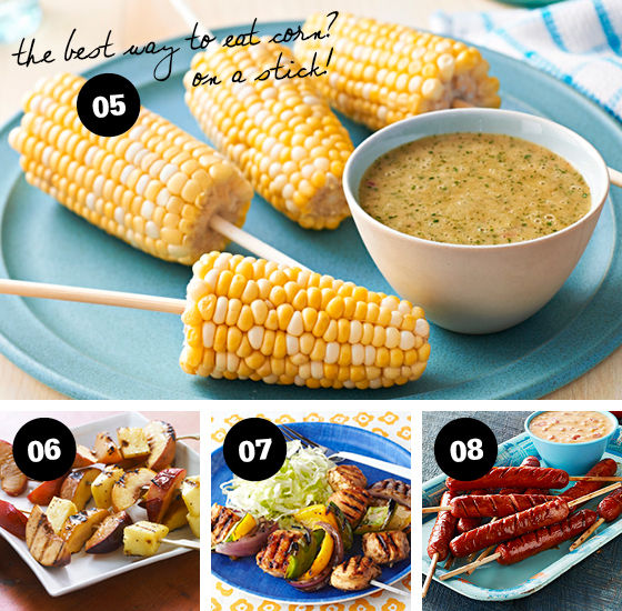 12 Ingenious Ways to Put Food on a Stick