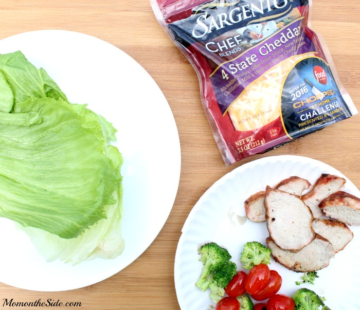 Grilled Pork Tenderloin Lettuce Wraps