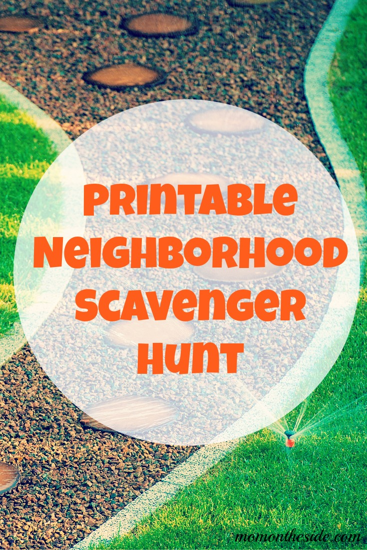 Neighborhood Scavenger Hunt to Experience the Outdoors