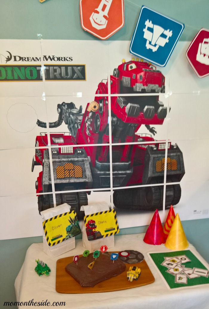 Happy Birthday Dinotrux + Dinotrux Birthday Party Printables