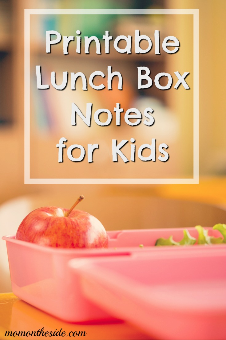 Printable Lunch Box Notes for Kids (Jokes, Characters, and More!)