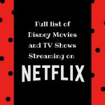 Disney on Netflix for Your Family Movie Night