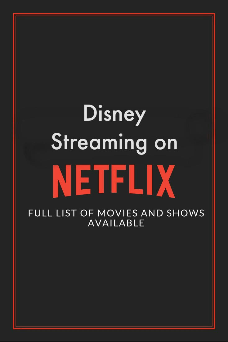There are over 80 shows and movies to watch from Disney on Netflix right now! Plus, learn more about Disney on Netflix exclusively.