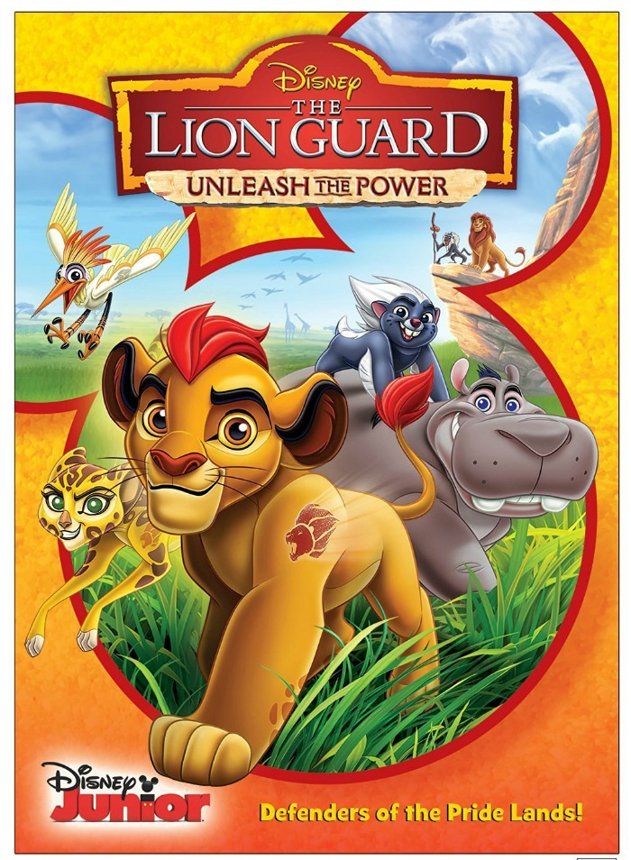The Lion Guard: Unleash the Power is now available on DVD. Featuring 6 episodes and a FREE Magic Lion Guard Power Necklace, this is a must-own for families.