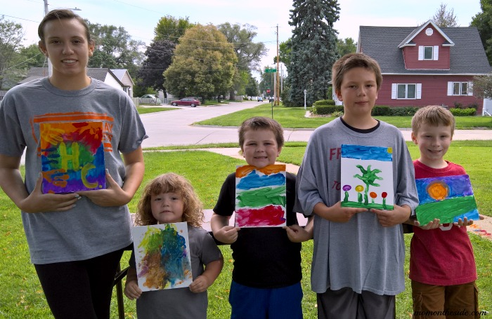 Afternoon Painting Party for Kids