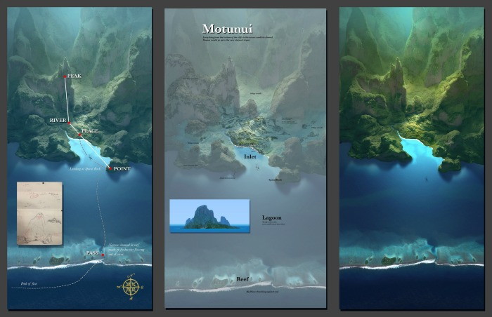 Creating the World and Characters of Moana + Inner Workings