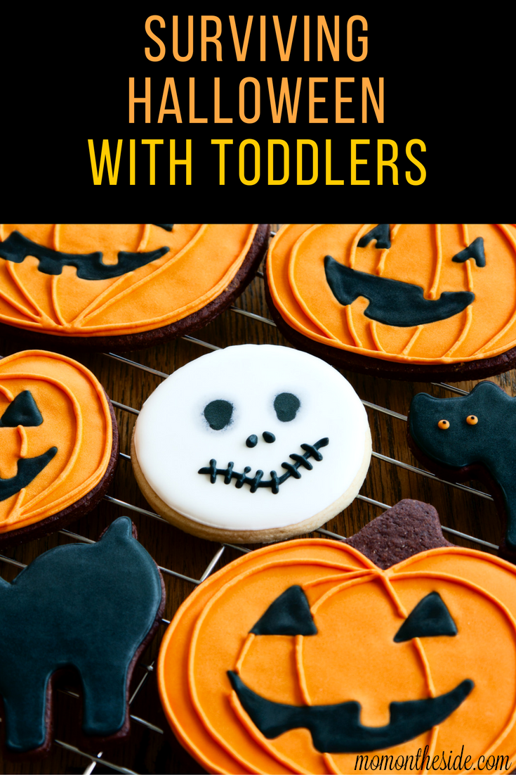 Surviving Halloween with Toddlers