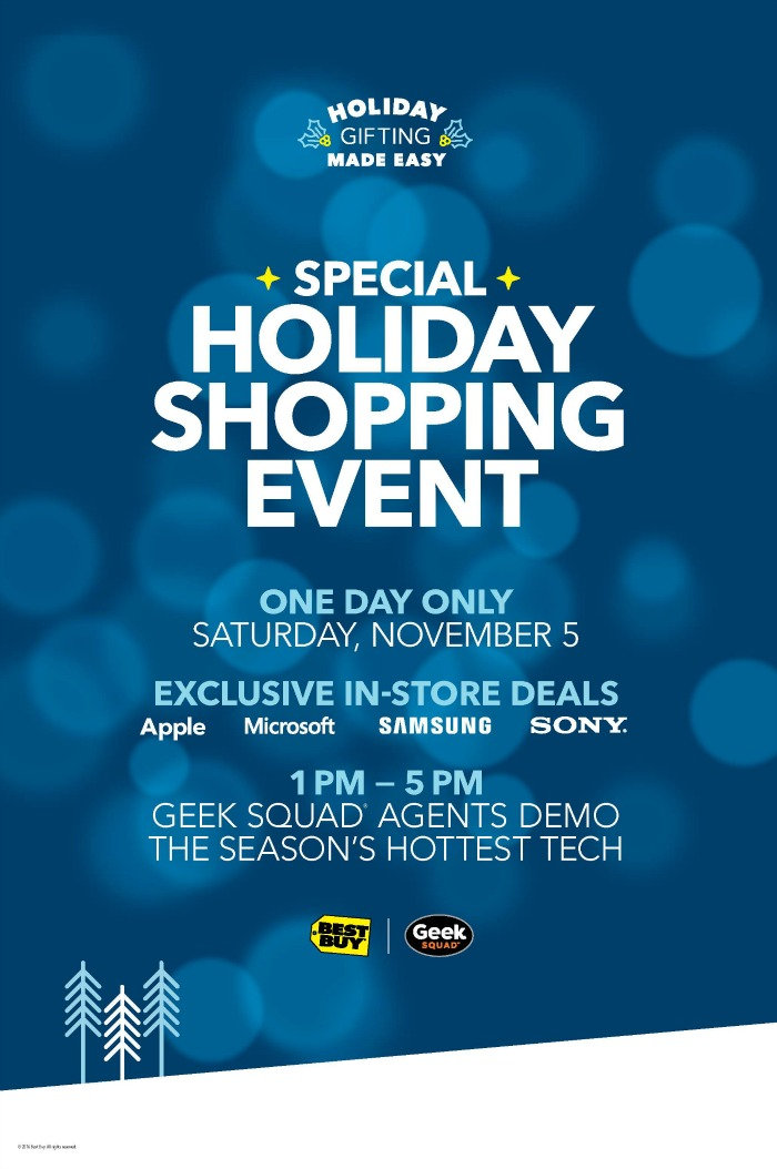 Best Buy Holiday Shopping Event: Holiday Gifting Made Easy