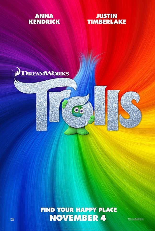 DreamWorks Animation's Trolls Hitting Theaters + Trolls Giveaway
