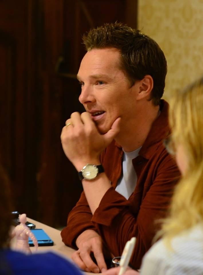 Levitating and Tutting: Benedict Cumberbatch Interview