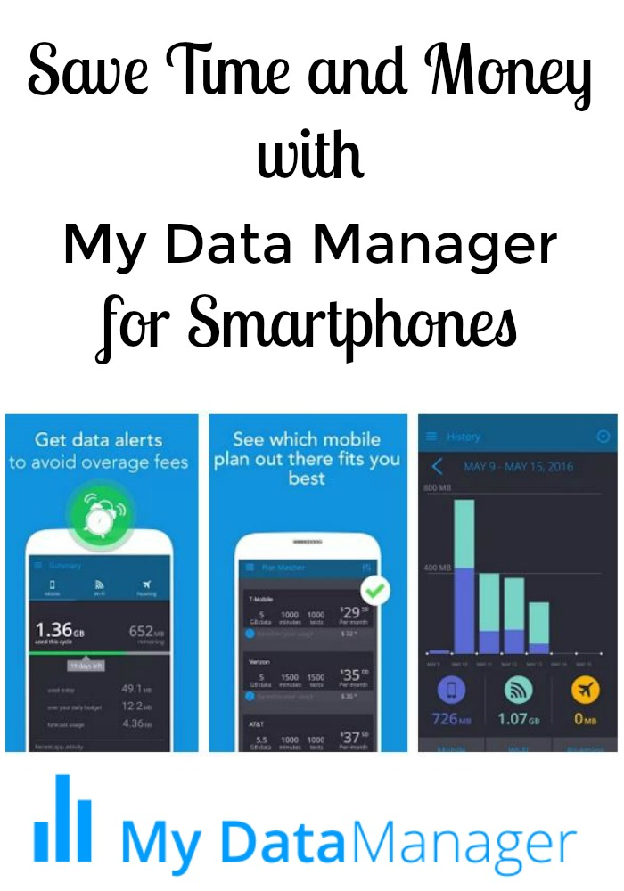Save Time and Money with My Data Manager for Smartphones