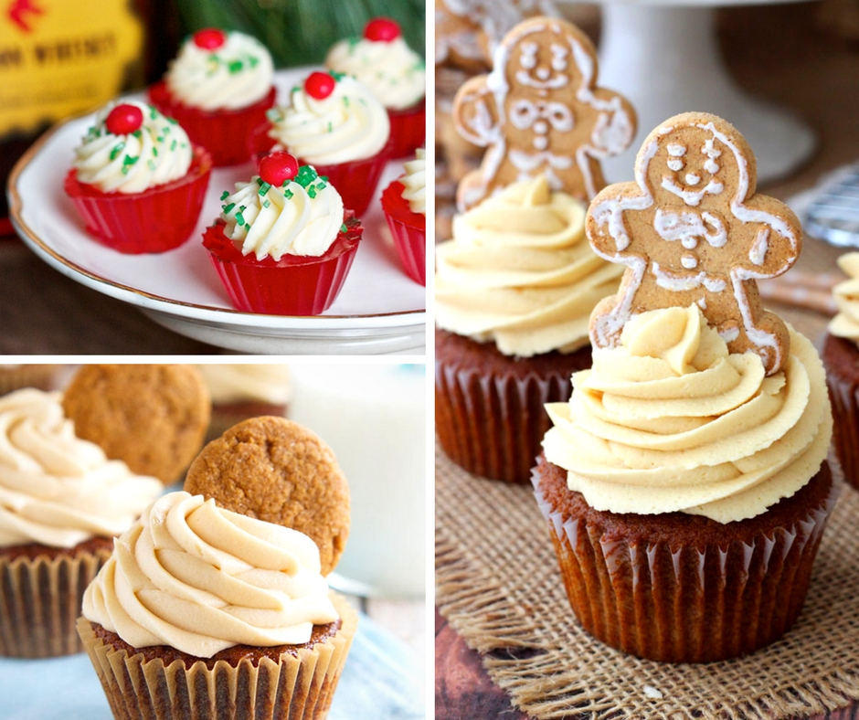 20 Cute and Delicious Holiday Cupcakes + LG ProBake