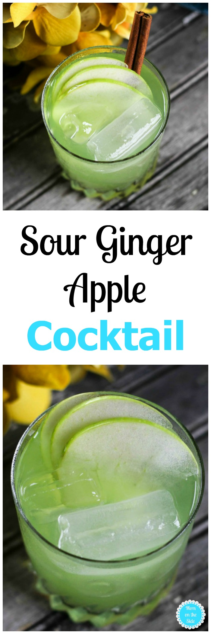 Sour Ginger Apple Cocktail Recipe