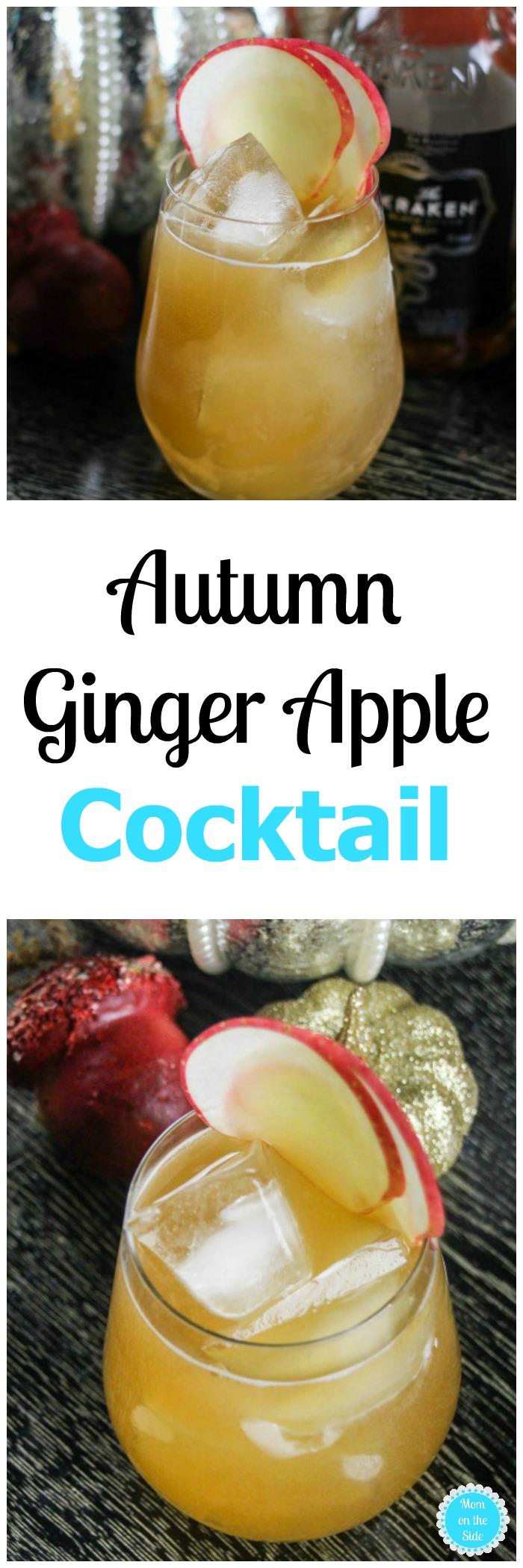 Autumn Ginger Apple Cocktail Recipe